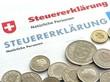 Leinwanddruck Bild - Steuererklärung - Schweiz