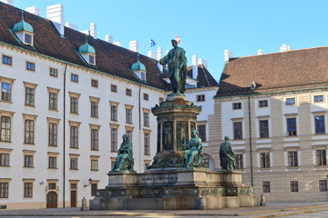 Hofburg - Amalienburg and inner courtyard