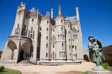 Episcopal Palace of Astorga by Gaudi