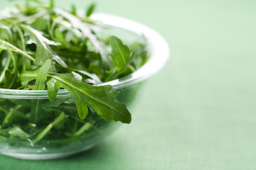 Rucola fresh salad