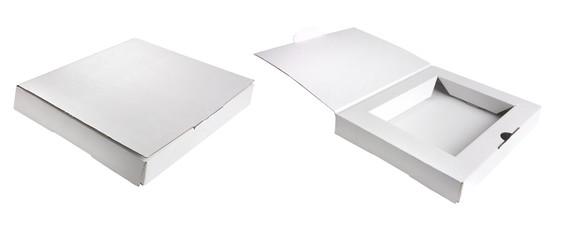 white postage box