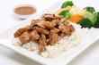 Teriyaki Chicken with Steam Rice
