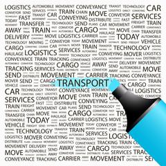 TRANSPORT. Highlighter over different association terms.