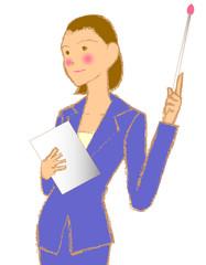 会社員 女性 OL 教える プレゼン