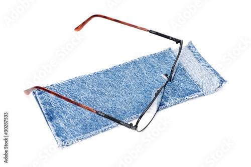 occhiali con custodia - glasses and cloth case