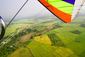 Aerial View of Rural Thailand