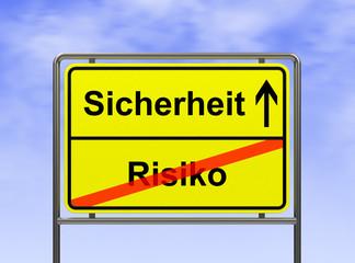 Sicherheit-Risiko