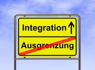 Integration-Ausgrenzung