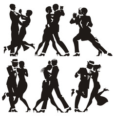 pareja de baile