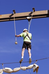 Balancing on a tight rope