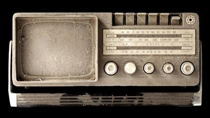 Radio tv vintage