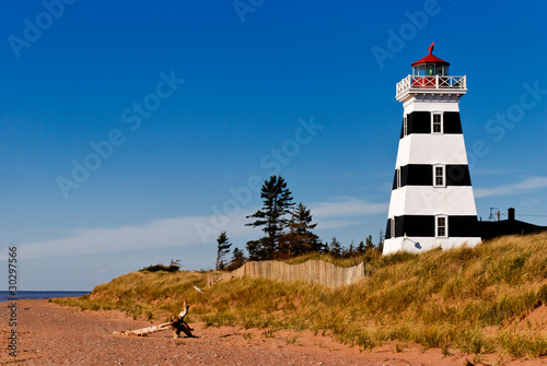 West Point lighthouse, Prince Edward Island, PEI