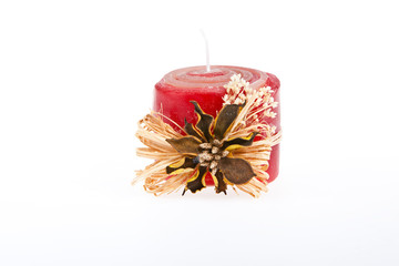 Decorated candle (handmade) - 3