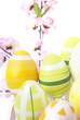 uova e fiori di pesco