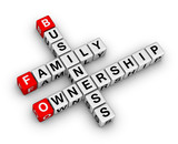 business family ownership poster