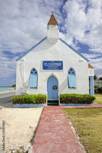 St. Columba's anglican church in Tarpum Bay