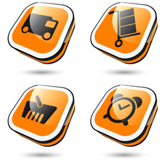 lieferung symbol zeichen transport einkaufen