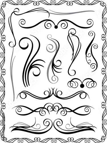 Decorative Borders Set #1
