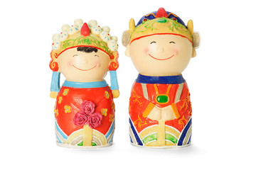 Chinese wedding figurines