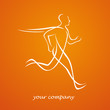 logo sport, running club