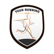 logo entreprise, running club