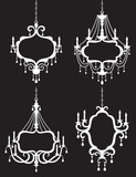 Chandelier Frame Set
