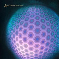 Hexagon abstract mosaic.