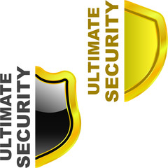 Ultimate secutity. Vector illustration.