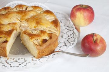 Apfelkuchen, Apfeltorte