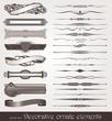 Vector decorative design elements & page decorations