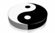 3D - Yin und Yang Symbol 04
