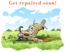 Get repaired soon card