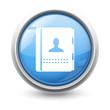 Symbole glossy vectoriel contacts 01