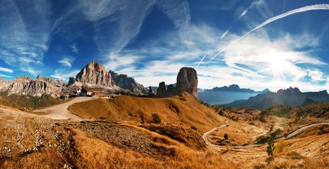 Italian Dolomiti - nice pamoramic view