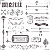 Fototapety design elements & page decoration set 2
