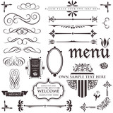 design elements & page decoration set 3
