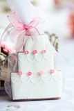 Wedding cake favor poster