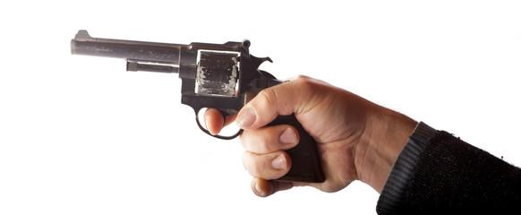 Mano con pistola