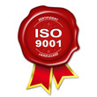 siegel button iso 9001