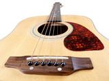 Acoustic guitar strings poster