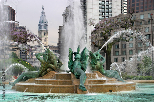 Swann Memorial Fountain Logan Square Philadelphia