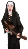 Nun Plays Guitar
