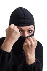 ertappter Einbrecher