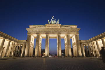 Brandenburg Gate at Pariser Platz