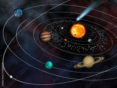 nine planet solar system 3d - photo #15