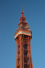 Blackpool Tower, Lancashire, UK
