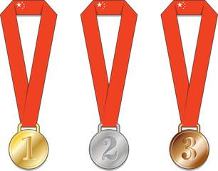 Cina medaglia medaglie