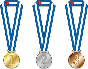 Cuba medaglia medaglie