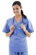 Female healthcare worker