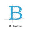 Logo design letter B # Vector